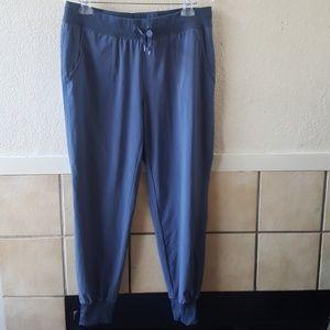 Athleta blue jogger pants. Size 12 like new